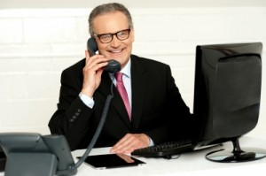 businessmanonphone